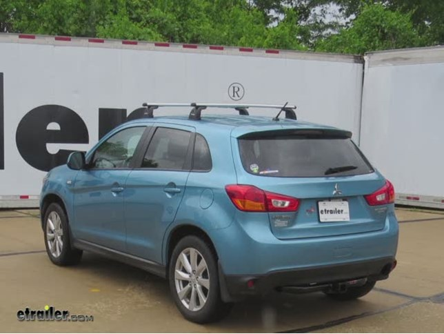 Trailer Hitch Installation 2013 Mitsubishi Outlander Sport Curt