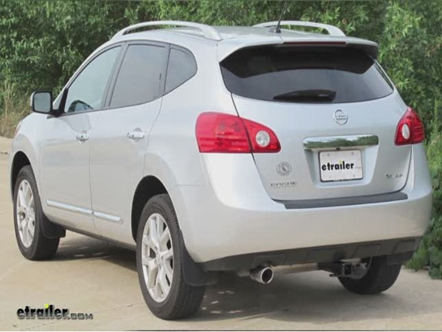 Trailer Hitch Installation   2013 Nissan Rogue   Curt Video | Etrailer.com