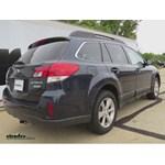 Trailer Hitch Installation - 2013 Subaru Outback Wagon - Draw-Tite