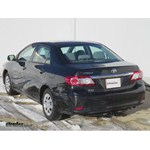 Trailer Hitch Installation - 2013 Toyota Corolla - Curt