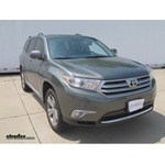 Trailer Hitch Installation - 2013 Toyota Highlander - Draw-Tite