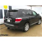 etrailer.com Trailer Hitch Installation - 2013 Toyota Highlander