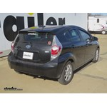 Trailer Hitch Installation - 2013 Toyota Prius c - Draw-Tite