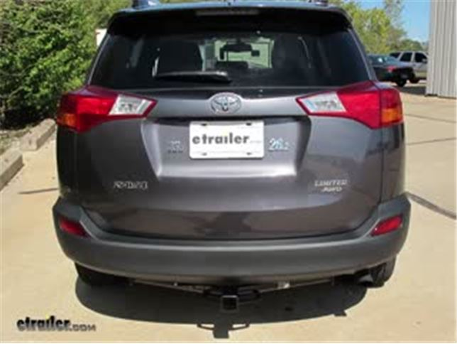 Trailer Hitch Installation 2013 Toyota RAV4 DrawTite Video - Install Trailer Hitch Rav4