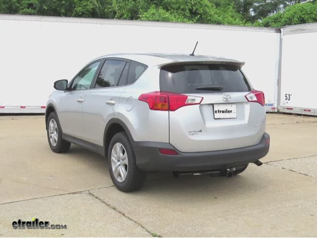 Trailer Hitch Installation 2013 Toyota RAV4 Curt Video - Install Trailer Hitch Rav4