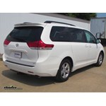 Trailer Hitch Installation - 2013 Toyota Sienna - Curt