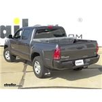 Trailer Hitch Installation - 2013 Toyota Tacoma - Curt