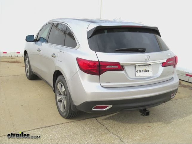 install trailer hitch 2014 acura mdx c13146_644 trailer hitch installation 2014 acura mdx curt video