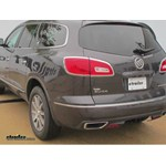 Video install trailer hitch 2014 buick enclave 75528