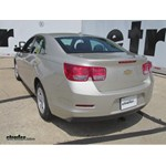 Trailer Hitch Installation - 2014 Chevrolet Malibu - Draw-Tite