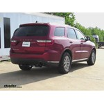 Trailer Hitch Installation - 2014 Dodge Durango - Draw-Tite