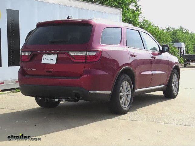 install trailer hitch 2014 dodge durango 75713_644 trailer hitch installation 2014 dodge durango draw tite video  at n-0.co