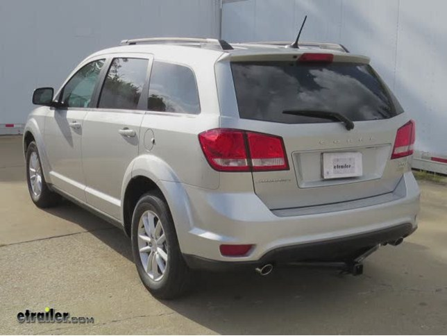 install trailer hitch 2014 dodge journey 87487_644 trailer hitch fits for 2015 dodge journey crossroads etrailer com  at bayanpartner.co