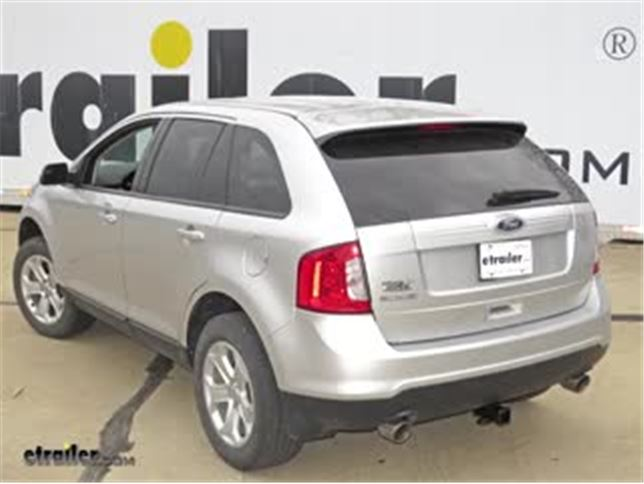 Today On Our  Ford Edge Well Be Having A Look At And Installing The Draw Tite Class Iii Max Frame Trailer Hitch Receiver Part Number