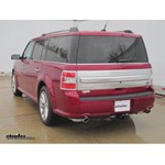 Trailer Hitch Installation - 2014 Ford Flex - Draw-Tite