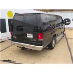 Trailer Hitch Installation - 2014 Ford Van - Curt