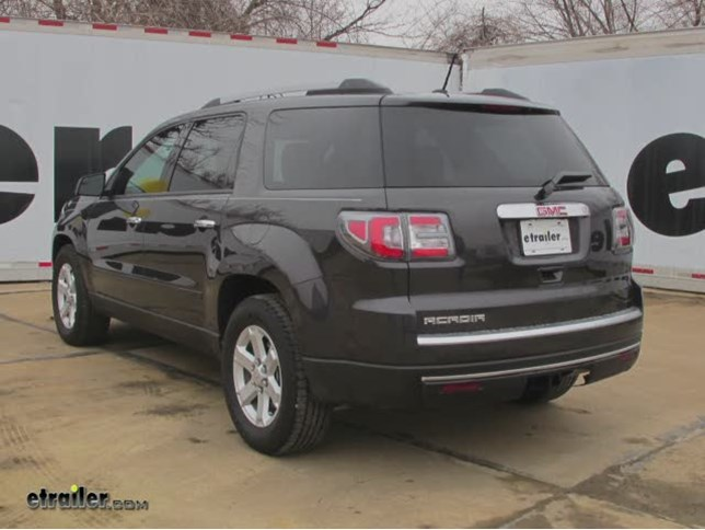 2014 GMC Acadia Trailer Hitch - Curt