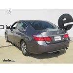 Trailer Hitch Installation - 2014 Honda Accord - Draw-Tite