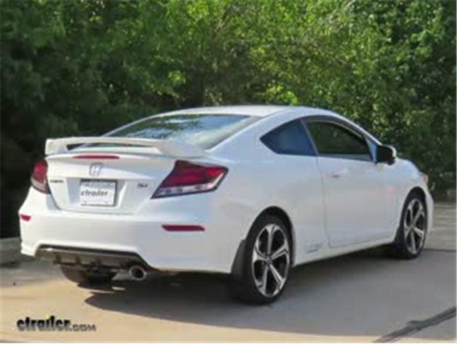 Trailer Hitch Installation   2014 Honda Civic   Curt Video | Etrailer.com