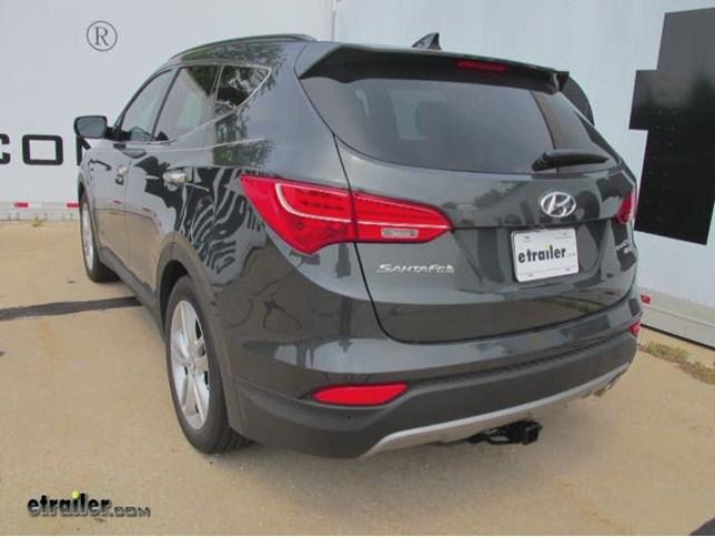 2014 Hyundai Santa Fe Trailer Hitch Draw Tite