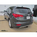 Trailer Hitch Installation - 2014 Hyundai Santa Fe -Hidden Hitch