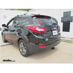 Trailer Hitch Installation - 2014 Hyundai Tucson - Curt