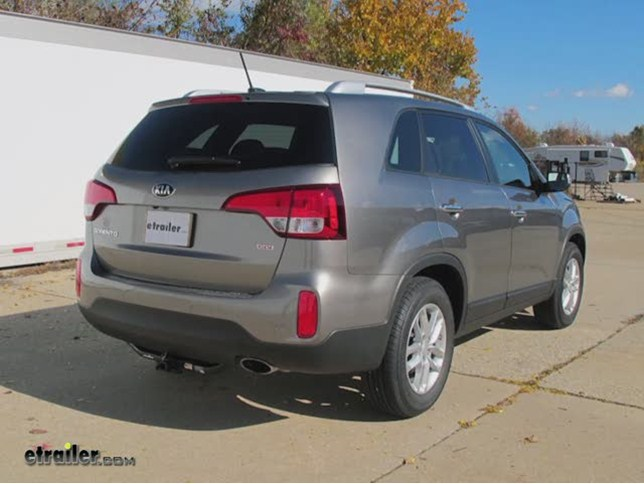 Trailer Hitch Installation   2014 Kia Sorento   Draw Tite Video |  Etrailer.com