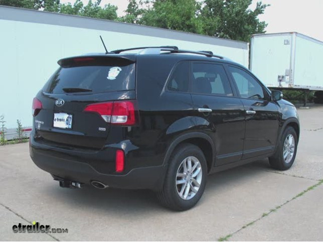 Lovely Trailer Hitch Installation   2014 Kia Sorento   Draw Tite Video |  Etrailer.com