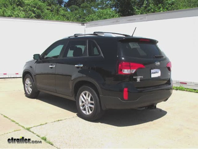 Trailer Hitch Installation 2014 Kia Sorento Curt Video