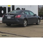 Trailer Hitch Installation - 2014 Nissan Altima - Curt