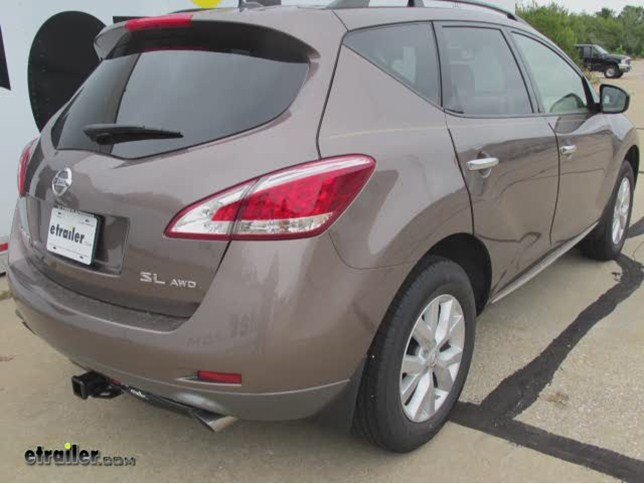 2014 Nissan Murano Trailer Hitch Curt