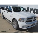 Trailer Hitch Installation - 2014 Ram 1500 - Curt