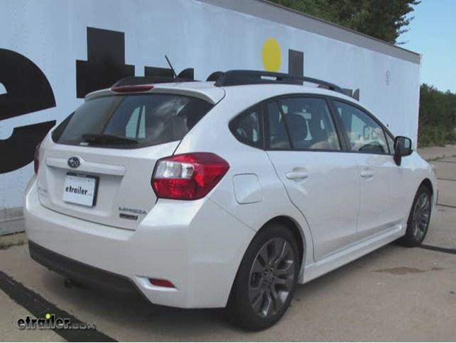 Trailer Hitch Installation 2014 Subaru Impreza Curt Video