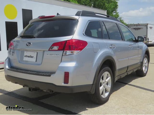 Trailer Hitch Installation - 2014 Subaru Outback Wagon - Draw-Tite ...