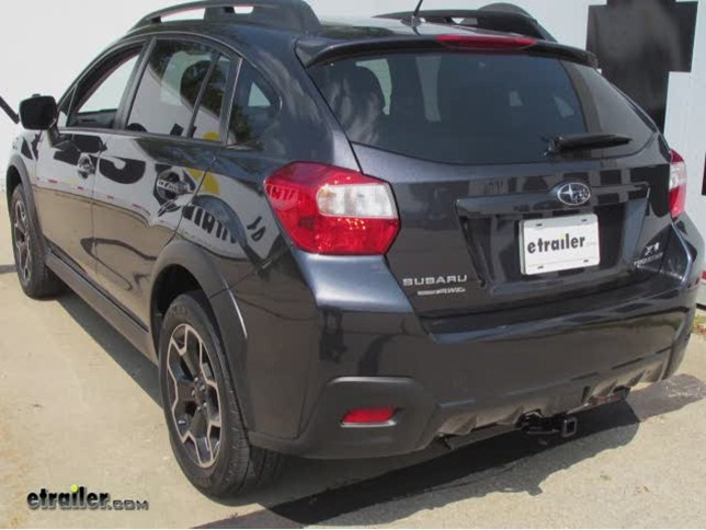 install trailer hitch 2014 subaru xv crosstrek c11286_644 trailer hitch installation 2014 subaru xv crosstrek curt video  at bayanpartner.co
