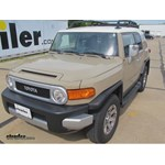 Trailer Hitch Installation - 2014 Toyota FJ Cruiser - Hidden Hitch