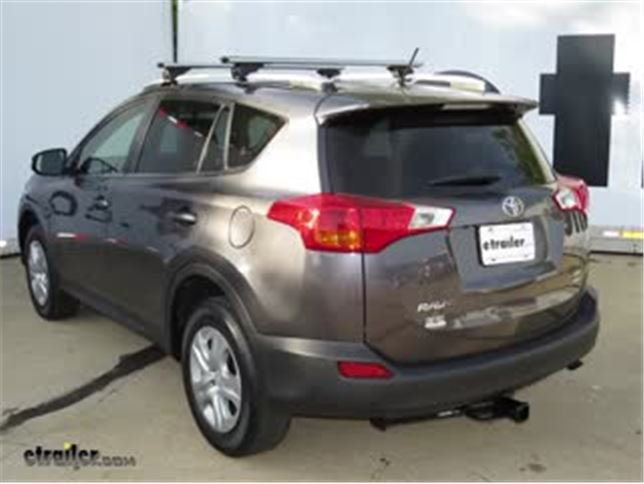 Trailer Hitch Installation 2014 Toyota RAV4 DrawTite Video - Install Trailer Hitch Rav4