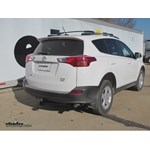 Recommended Trailer Hitch For 2015 Toyota RAV4 XLE 4WD Etrailercom - Install Trailer Hitch Rav4