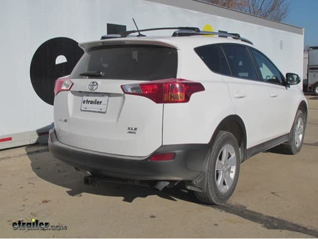 Trailer Hitch Installation 2014 Toyota RAV4 Curt Video - Install Trailer Hitch Rav4