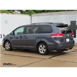 Video install trailer hitch 2014 toyota sienna 75237