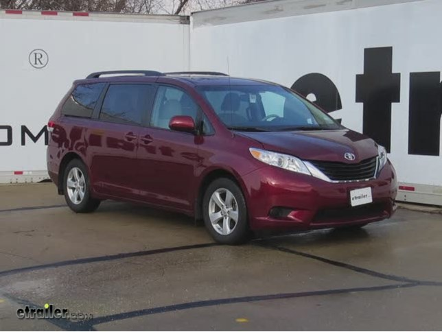 2014 Toyota Sienna Curt Trailer Hitch Receiver Custom