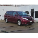Trailer Hitch Installation - 2014 Toyota Sienna - Curt