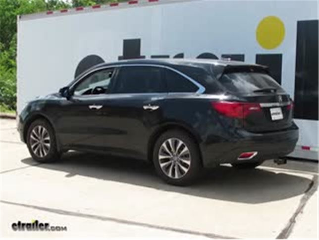 install trailer hitch 2015 acura mdx c13146_644 trailer hitch installation 2015 acura mdx curt video Ford Fusion Trailer Wiring Harness at creativeand.co