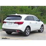 etrailer.com Trailer Hitch Installation - 2015 Acura MDX