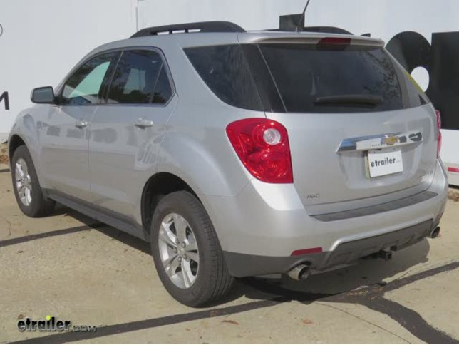 trailer hitch installation 2012 chevrolet equinox curt