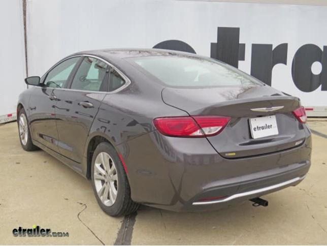 Trailer Hitch Installation - 2015 Chrysler 200 - Hidden Hitch Video |  etrailer.cometrailer.com