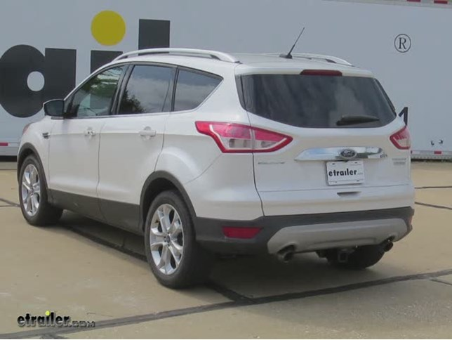 install trailer hitch 2015 ford escape c13186_644 trailer hitch installation 2015 ford escape curt video Trailer Hitch Connector at creativeand.co