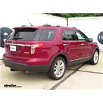 Trailer Hitch Installation - 2015 Ford Explorer - Draw-Tite