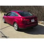 Trailer Hitch Installation - 2015 Ford Focus - Draw-Tite