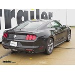Trailer Hitch Installation - 2015 Ford Mustang - Draw-Tite
